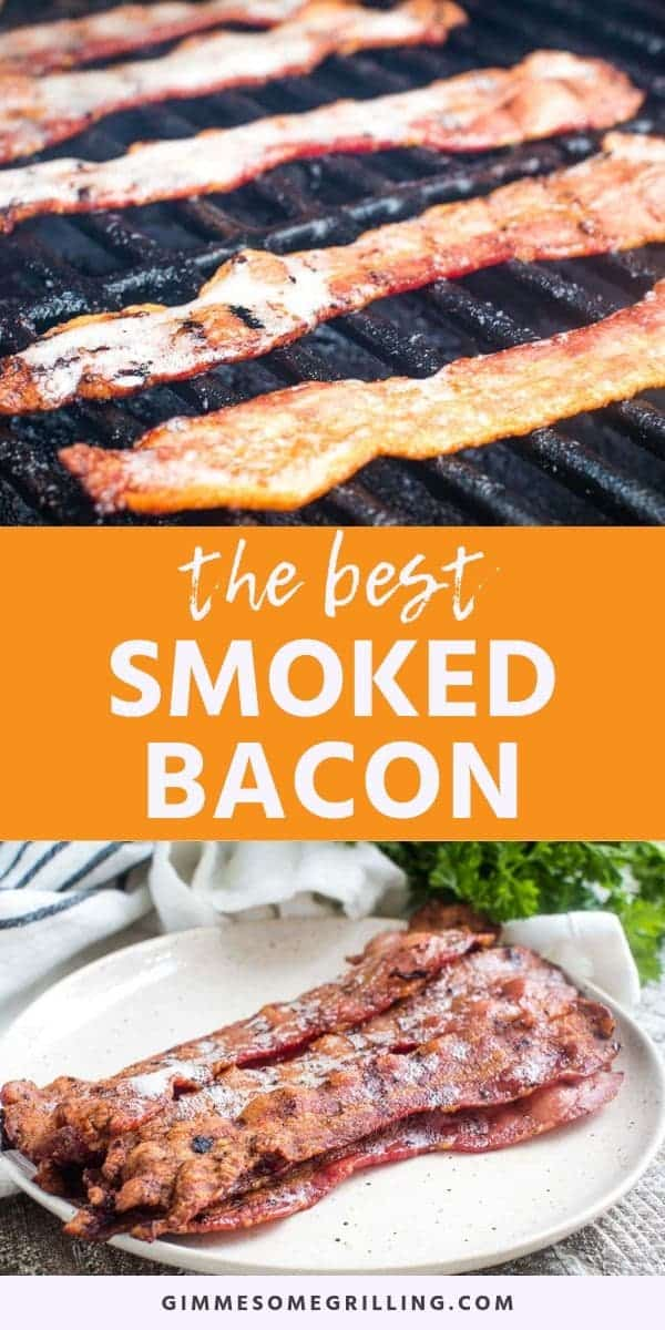 Smoked Bacon is the best! Take your thick cut bacon and put it on your electric smoker for 30 minutes and you get thick, crispy bacon with an amazing flavor. It's perfect for breakfast, topping your favorite burgers or adding to your favorite dishes for an amazing smoked flavor. Make Traeger Bacon today! #bacon #smoked via @gimmesomegrilling