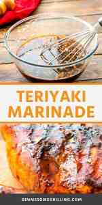TERIYAKI MARINADE Pins