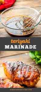 Teriyaki Marinade Recipe!