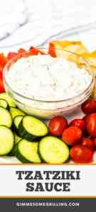 Tzatziki Sauce - Easy Recipe!