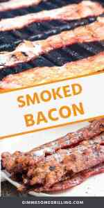 easy SMOKED BACON Pins