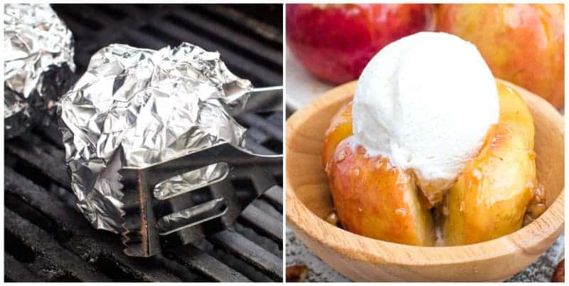 Baked Apples Collage