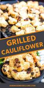 GRILLED CAULIFLOWER Pins