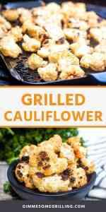 GRILLED CAULIFLOWER recipe Pins