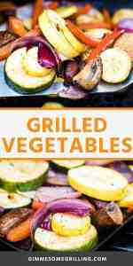 GRILLED VEGETABLES recipe Pins