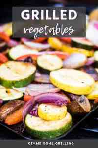 grilled vegetables New Pins