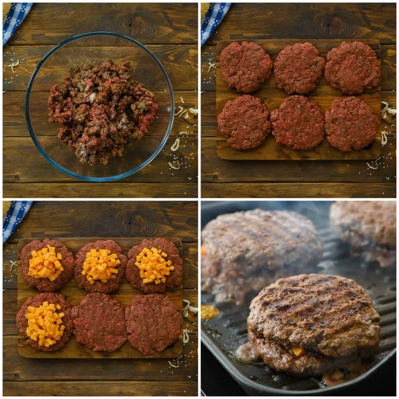 Juicy Lucy Collage