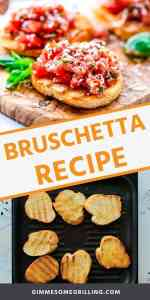 bruschetta recipe Pins