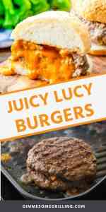 juicy lucy burgers Pins