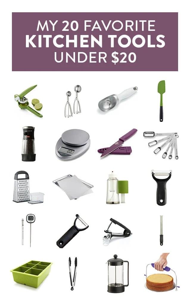 My Favorite 20 Kitchen Tools Under $20
