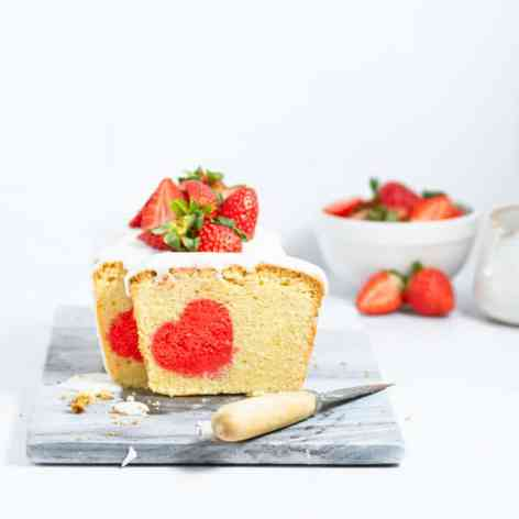 Valentine's Day pound cake recipe