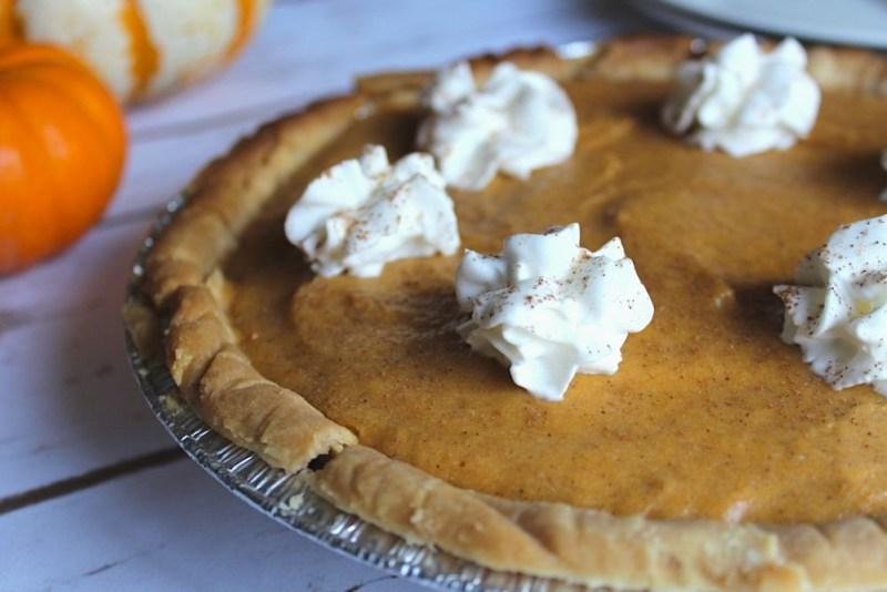 Whole pumpkin pie recipe with chiffon topping