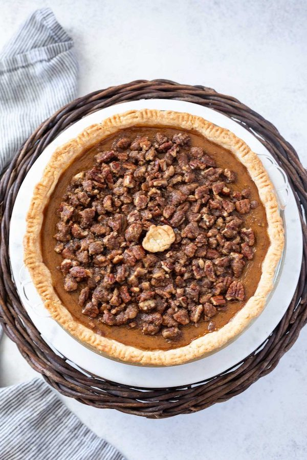 Pumpkin pecan pie recipe