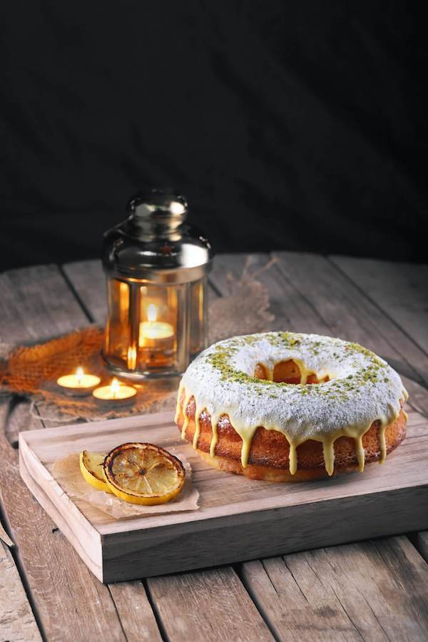 Vegan Pumpkin Bundt Cake With Maple Frosting