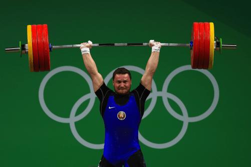 halterofilia barra olimpica