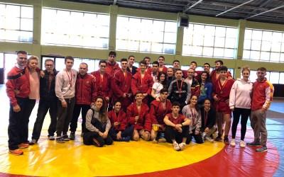 Campeonato de Madrid de SAMBO 2018