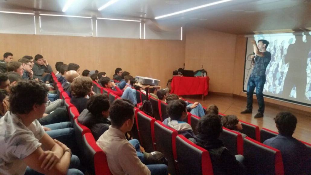 Conversatorio de Javier Santaolalla