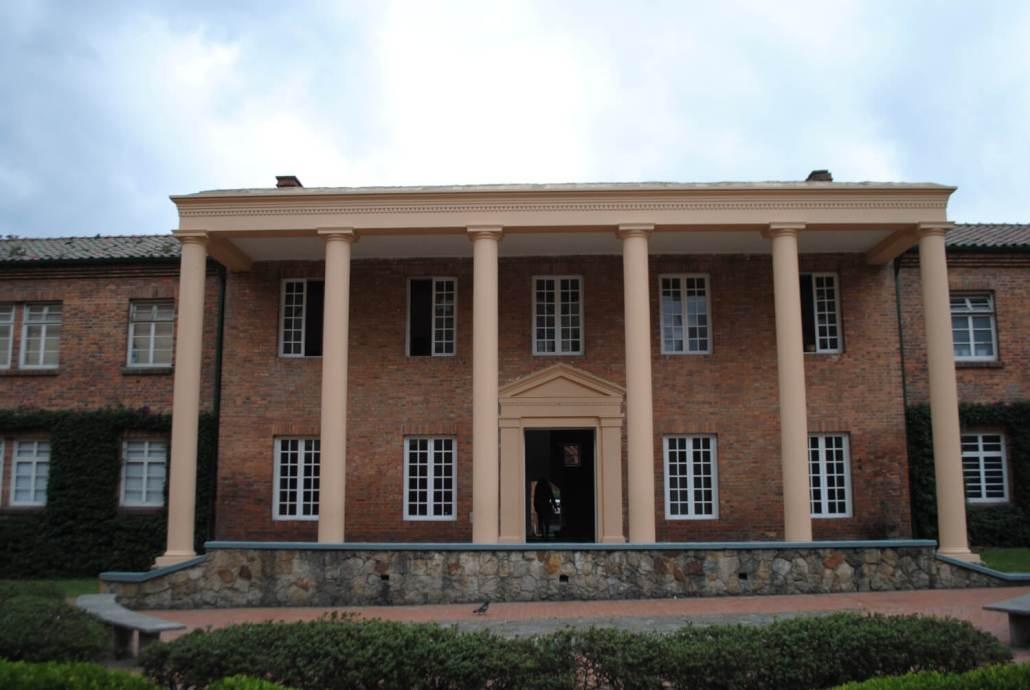 Edificio de la Facultad.