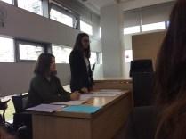 Sandra Delimar i Katarina Andrašec u ulozi odvjetnica