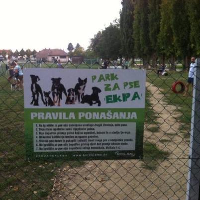 Izvor: Park za pse Koprivnica