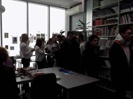 Okupljanje u školskoj knjižnici