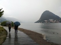 Lugano beach