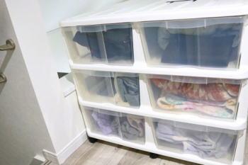 衣類収納ケースをラベルで分類する分け方はコレ!