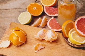 天然の香りにうっとり! グレープフルーツの皮で芳香剤を作ってみよう