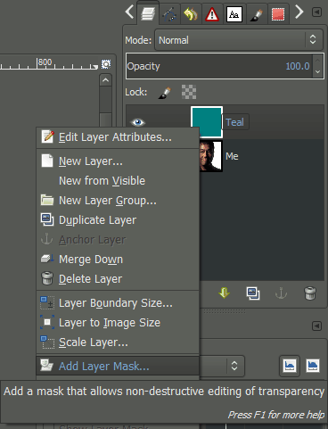 How To Insert Image In Gimp : insert, image, Layer, Masks