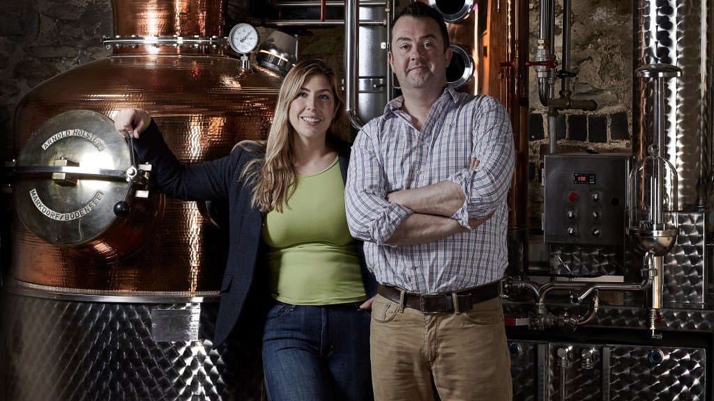 The team at Warner's gin
