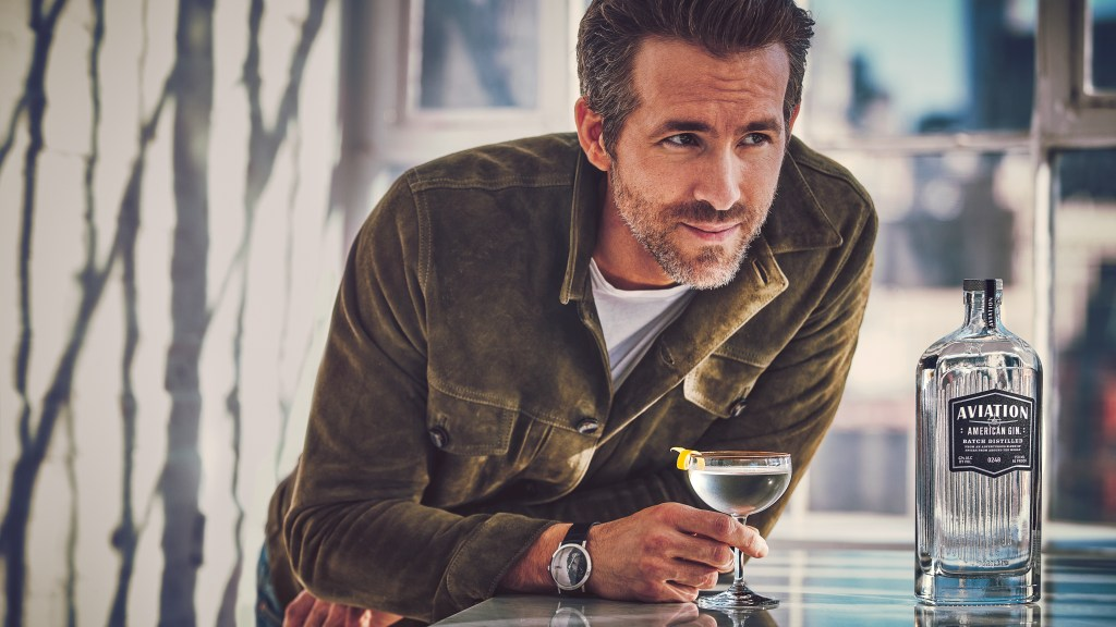 Ryan Reynolds of Aviation Gin