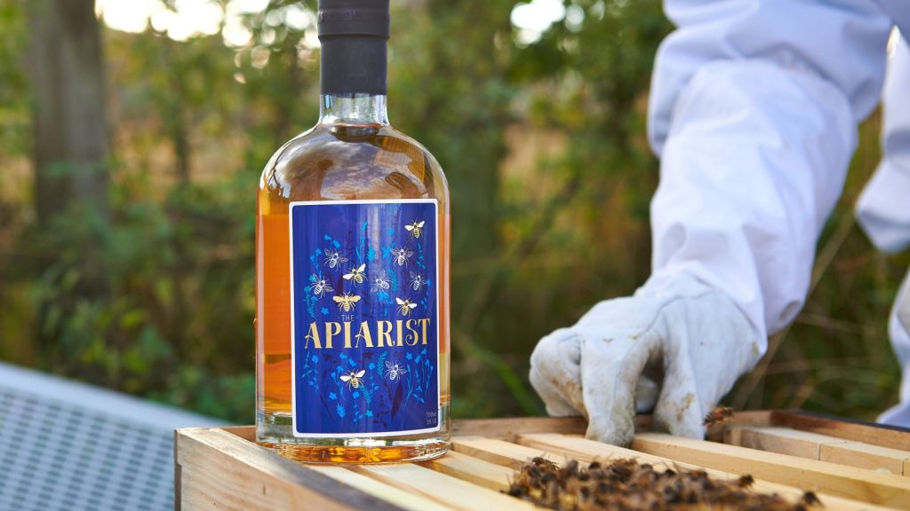 The Apiarist gin bottle