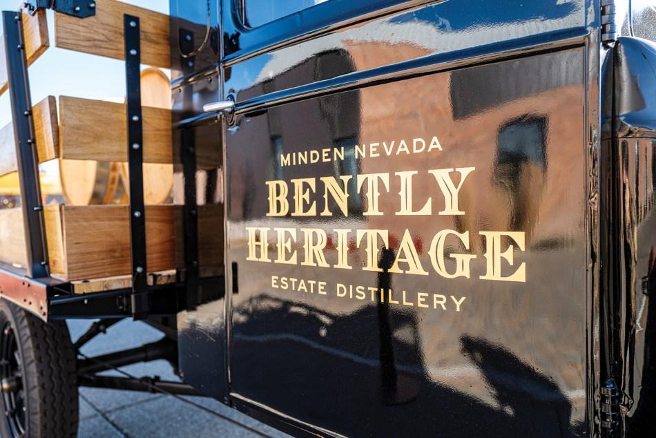 Bently Heritage Estate Distilling sign