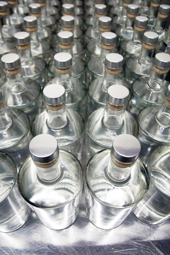 Bottles of Gin Frrallon from Coastal Spirits