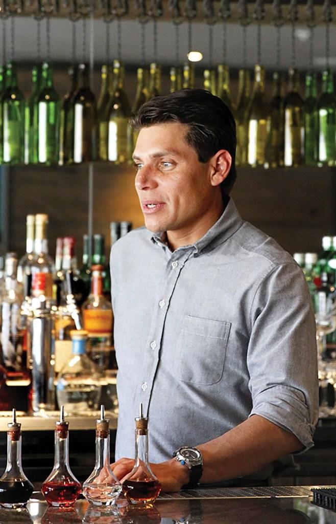 San Francisco bartender Carlos Yturria