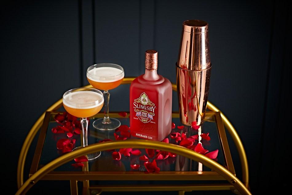 Slingsby Rhubarb Gin French Kiss