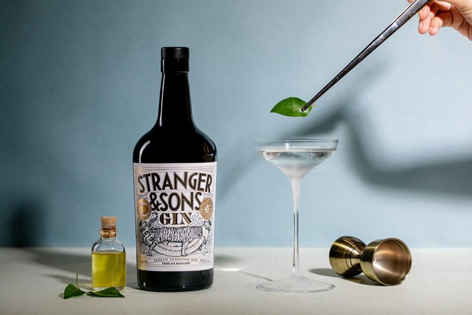 Stranger & Sons Gin Gimlet