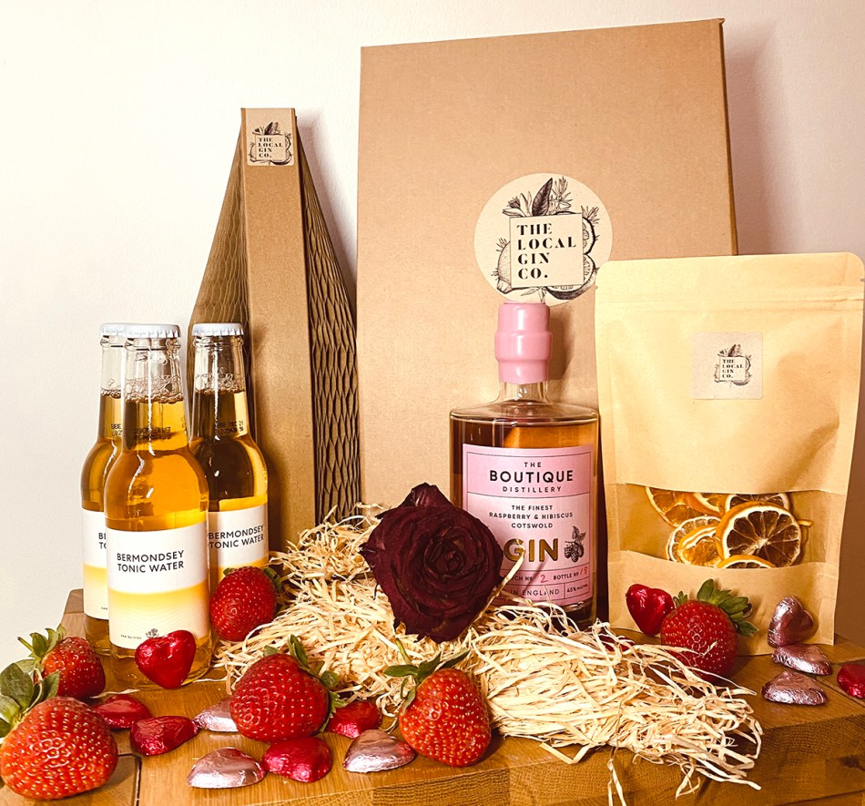 The Local Gin Company's Pink Gin subscription box