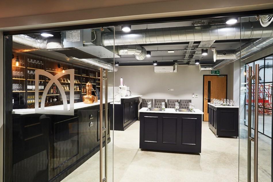 Masons of Yorkshire distillery tasting room