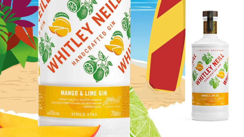 Whitley Neill Mango and Lime Gin