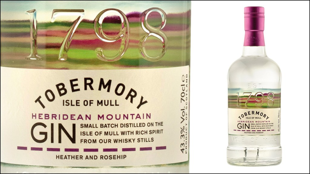 Tobermory Hebridean Mountain Gin