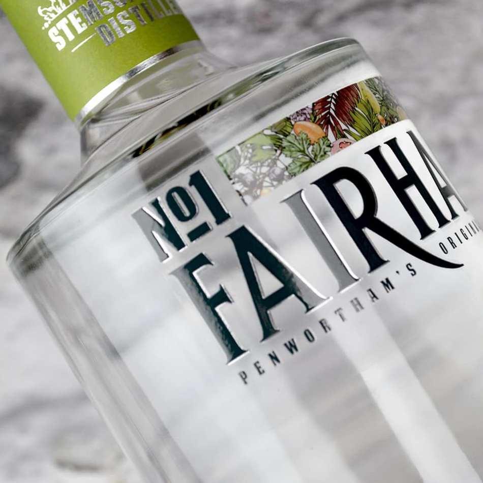 No. 1 Fairham Signature Gin bottle