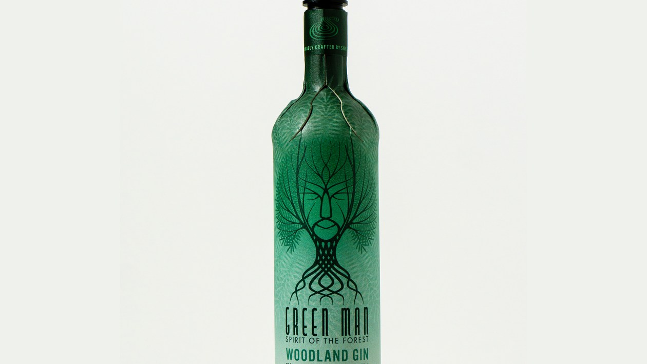 Silent Pool Green Man Woodland Gin