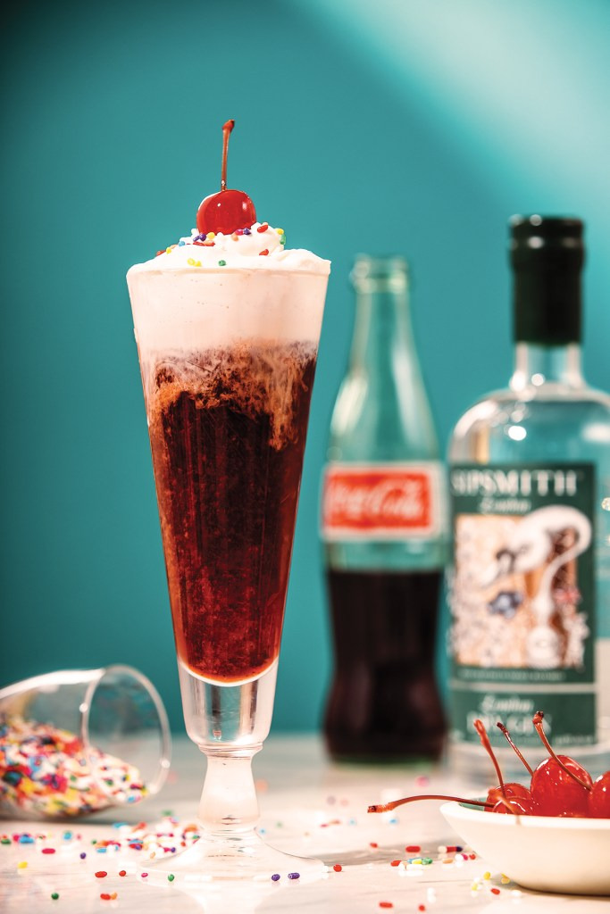 Negroni float with Sipsmith gin