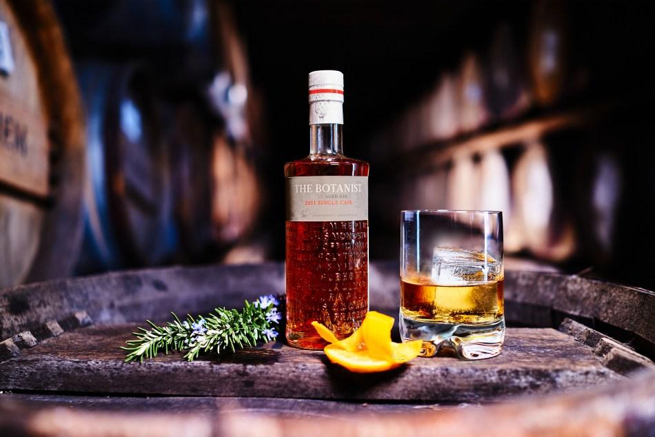 The Botanist's ultra-rare Single Cask Islay Aged Gin