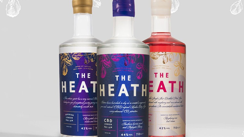 The Heath gins range