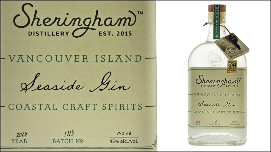 Sheringham Distillery Seaside Gin