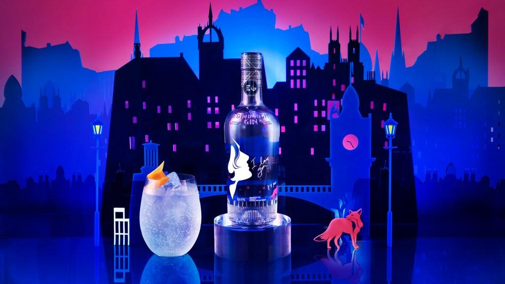 Edinburgh Gin Phoebe Waller-Bridge special-edition bottle