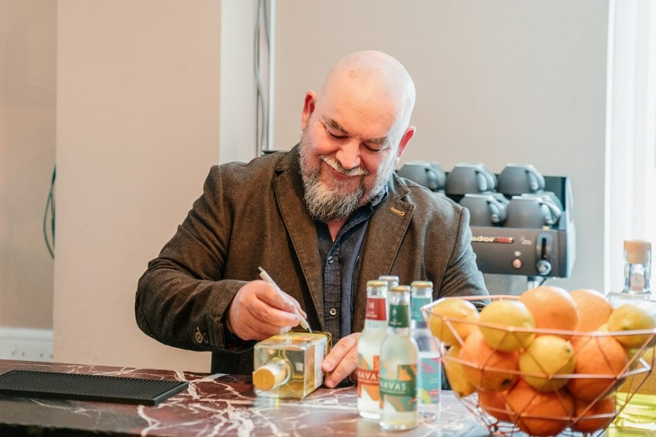 Land of Saints gin developer and Masterchef winner Mat Follas