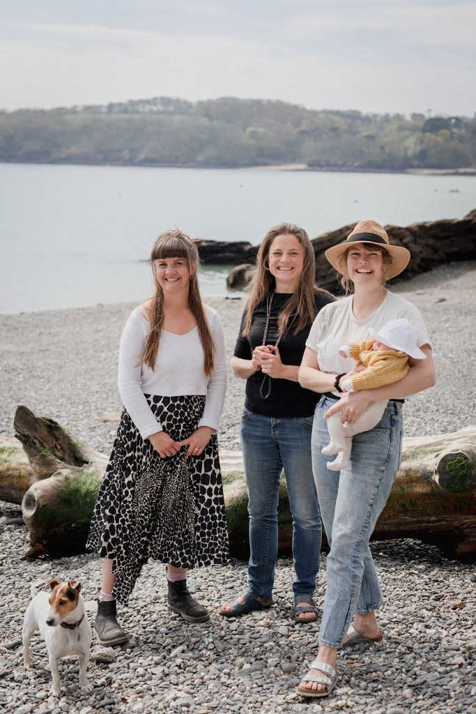 Daisy, Ruth and Chloe, founders of Falmouth Distilling Co.
